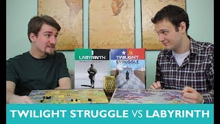 Which is Greater? Episode 8: Twilight Struggle vs Labyrinth: War on Terror