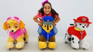 New play with Paw Patrol toys, fun kid video