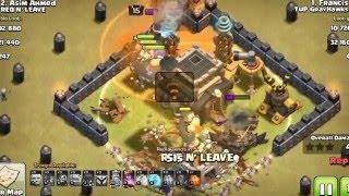 REQ N LEAVE Clans Vs TUP GRAYHAWKS Clans | Clans Vs Clans '' Clash of clans ''