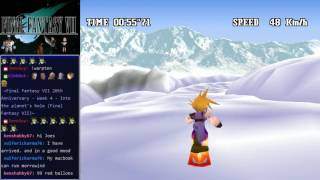 Final Fantasy VII - Snowboarding the right way