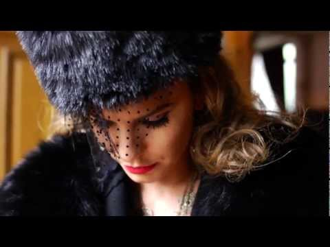 Anna Lesko as Anna Karenina for Meli Melo FW 2012