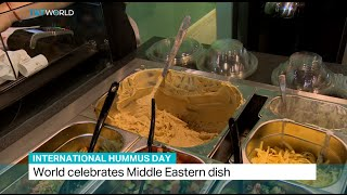 World celebrates international Hummus Day, Sarah Morice reports