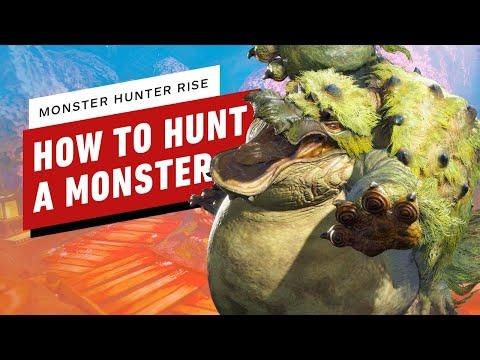 Monster Hunter Rise: Beginner's Guide to Hunting A Monster