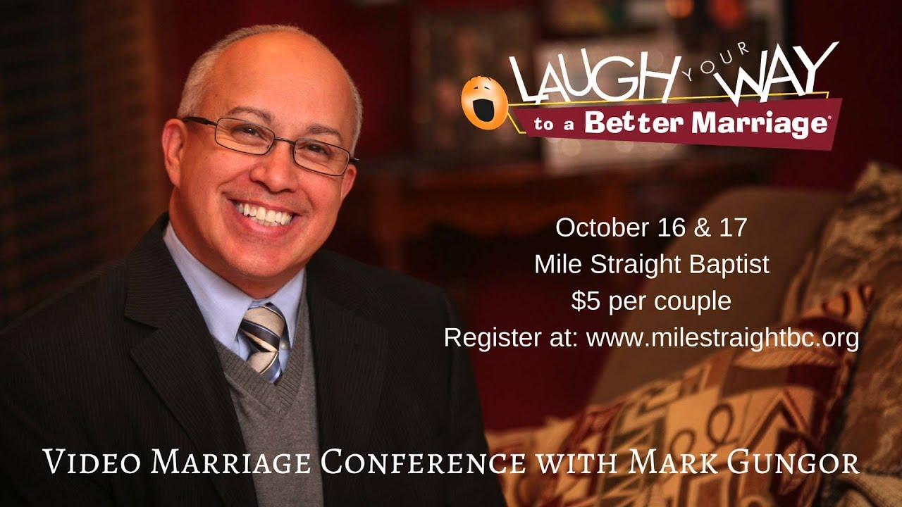 Laugh your way to a better marriage promo