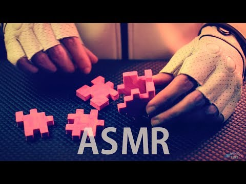 [ASMR] Assembling Marble FOAM Cube 3D Puzzle #3 (Red) - NO TALKING