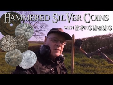 XP DEUS with HOPEUS MAXIMUS - UK Metal Detecting - Silver Hammered Coins - Video 4 of 2017