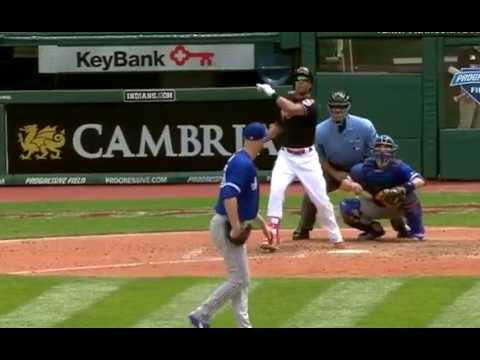Michael Brantley smacks two run home run to center