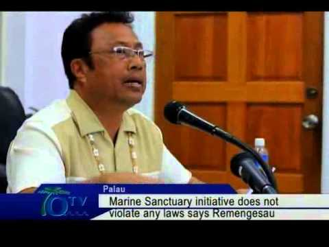 Marine Sanctuary Initiative Does Not Violate Any Laws Says Remengesau