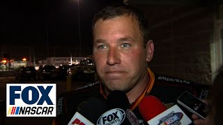 Ryan Newman Frustrated with Tony Stewart at Richmond - 2016 NASCAR Sprint Cup