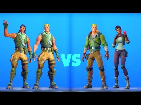 *NEW* DEFAULTS Vs. OG DEFAULTS..! Fortnite Battle Royale