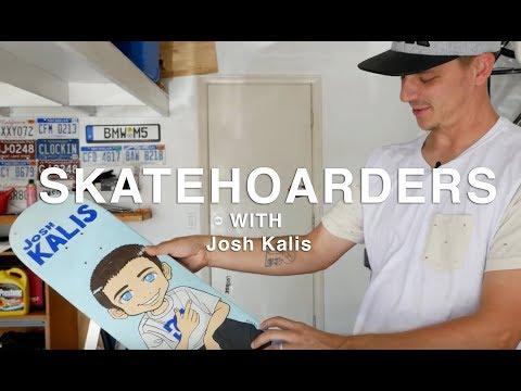 Skate Hoarders: Josh Kalis   TransWorld SKATEboarding
