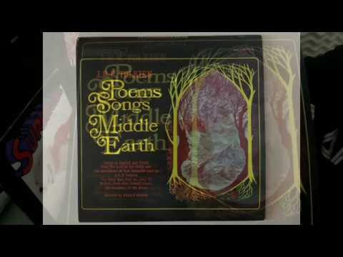 J.R.R. TOLKIEN POEMS AND SONGS OF MIDDLE EARTH (RARE LP)