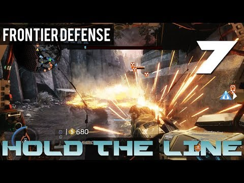 [7] Hold The Line (Let's Play Titanfall 2: Frontier Defense w/ GaLm and Goon)