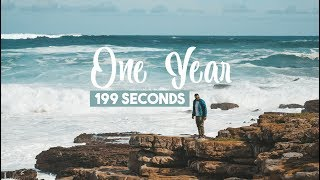 ONE YEAR in 199 SECONDS | 2018 Travel Montage