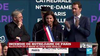 Incendie de Notre-Dame : Anne Hidalgo accorde la