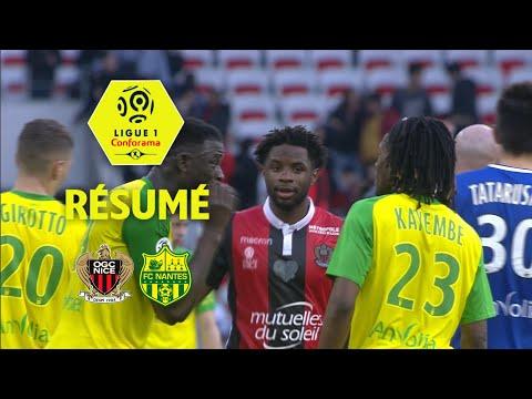 OGC Nice - FC Nantes (1-1)  - Résumé - (OGCN - FCN) / 2017-18