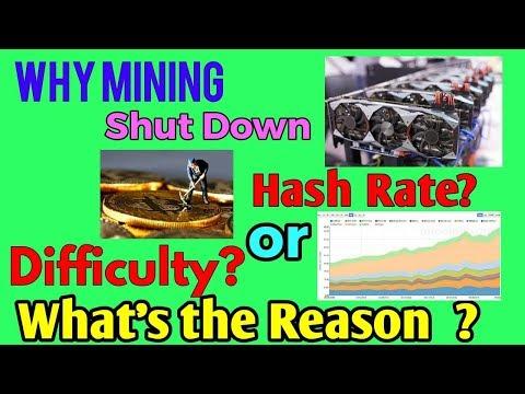 কেন বিটকয়েন #Mining বন্ধ হয়ে যাচ্ছে? কি #কারন? #Hash Rate or Difficulty? / Coinbd Bangla / Ashraf