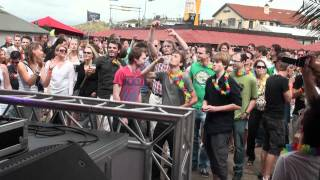 Juventa Playing Kyau & Albert - Be There 4 U (Mat Zo Remix) @ Luminosity Beach Festival 2011 1/2