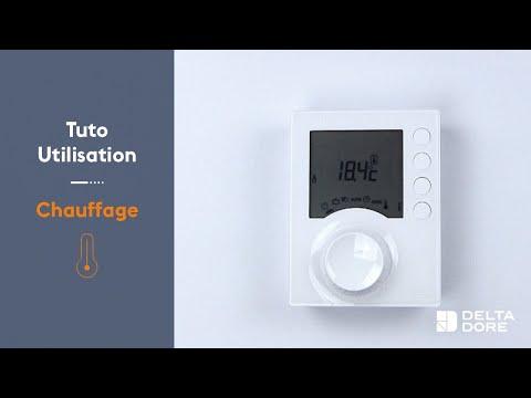 Installer, configurer et utiliser votre thermostat Tybox 137 | Delta Dore Conseils
