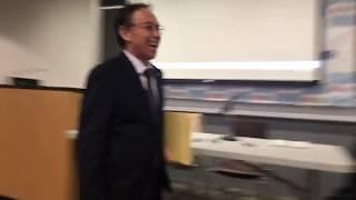 玉城デニー沖縄県知事、ニューヨーク講演 thumbnail
