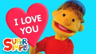 Sing along with the Super Simple Puppets to this sweet nursery rhym...