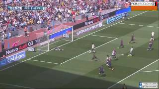 Video Gol Pertandingan FC Barcelona vs Valencia CF