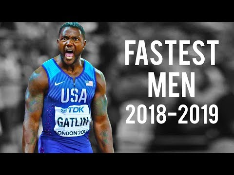 The Fastest Men In The World   2018-2019 ● HD
