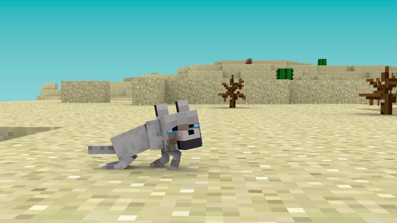 Wolf Life – Minecraft Animation