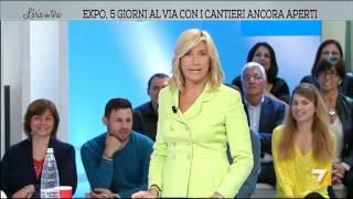 """Interferenza in diretta, l'imbarazzo di Myrta Merlino: """"Crozza ci fa una puntata"""""""