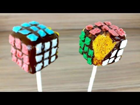 Rubik's Cube Honeycomb Pops