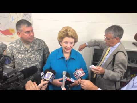 Upton & Stabenow at Ft. Custer