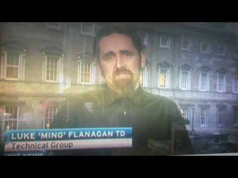Luke Flanagan points out RTE bias