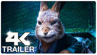 PETER RABBIT 2 : 6 Minute Extended Trailer (4K ULTRA HD) NEW 2021