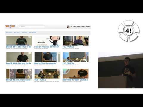 """GitHub: Distributed, Asynchronous, and Self-directed"" (John Britton) -- TechTalk @ Freitagsrunde"