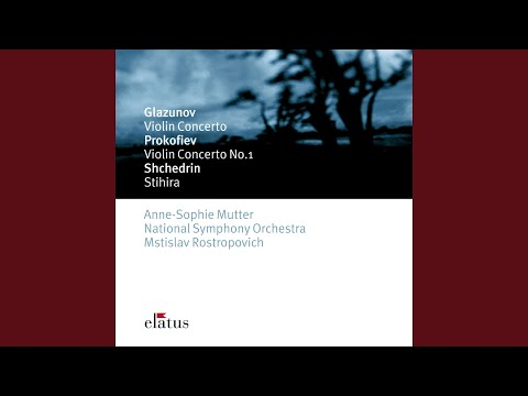 Glazunov : Violin Concerto in A minor Op.82