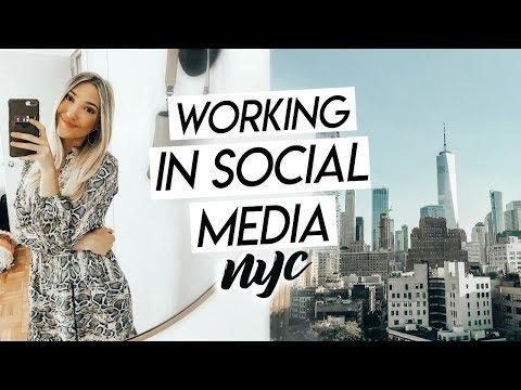 WORK WEEK IN MY LIFE NYC! Working in Social Media in NYC