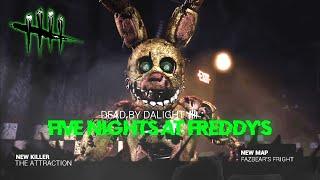 Five Nights At Freddy's x DEAD BY DAYLIGHT TRAILER * SPRINGTAP COMO NUEVO KILLER * | BersGamer