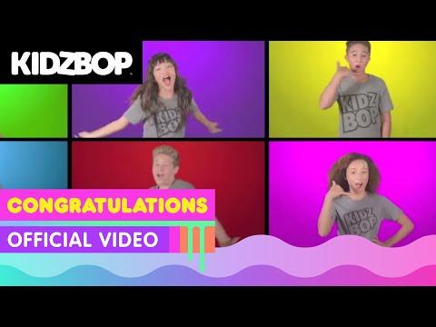 KIDZ BOP Kids –Congratulations  [KIDZ BOP 36]