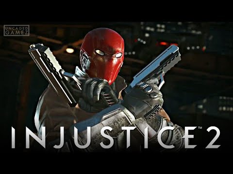 Injustice 2 - New Red Hood Gameplay Trailer!!