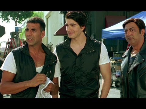 Image result for Brandon Routh in Kambakkht Ishq.