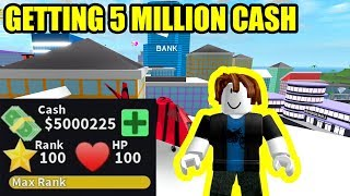 BACON HAIR gets 5 MILLION CASH in Mad City (Roblox)