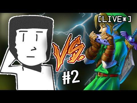 NO COMPLAINTS -  (The Legend of Zelda: Ocarina of Time #2 LIVE)) - FACECAM