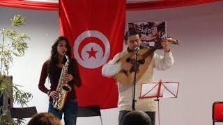 نسائم ثلج Adel Bouallegue et Mahia Mohamed Vecchio à Genève