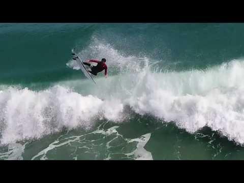 4k Drone Surf Video Delray Beach Jan 2018