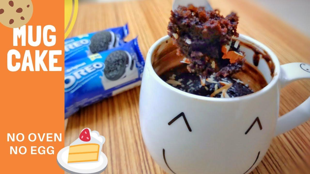 2 EASY MUG CAKE RECIPE l EGG LESS & WITHOUT OVEN | Oreo ...