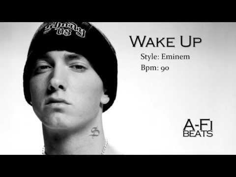 Wake Up  Hard Eminem Style Beat