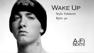 Wake Up - Hard Eminem Style Beat