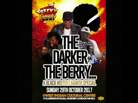 #FearlessFriday BLACK HISTORY MONTH COMEDY SHOW – Sunday 29th October 2017