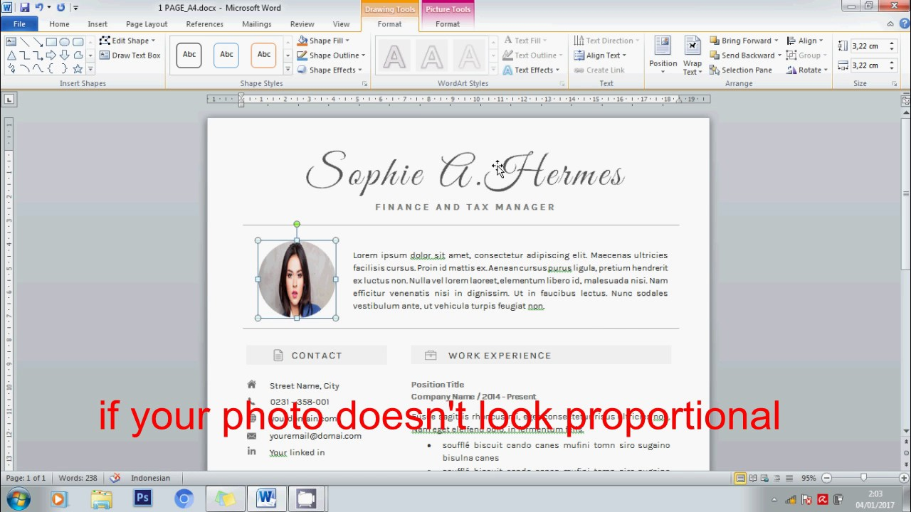 how to edit profile picture on creative resume using microsoft how to edit profile picture on creative resume using microsoft word zorra design on