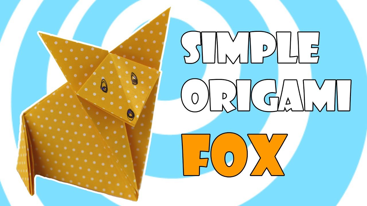 Origami Fox Simple Instructions